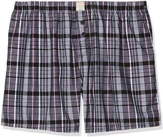 Esprit Men's 018ef2t018 Boxer Shorts, (Black 001), (Size: 5)