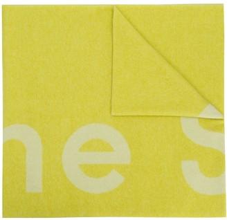 Acne Studios Toronty logo-print scarf