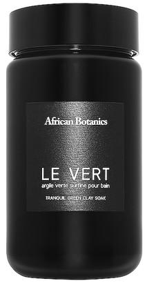 African Botanics Le Vert Tranquil Green Clay Soak