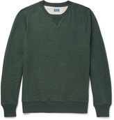 J.Crew Saddle Loopback Cotton-Jersey Sweatshirt