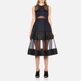 Three floor Women's Lucid Dreams Dress Black/Midnight Blue