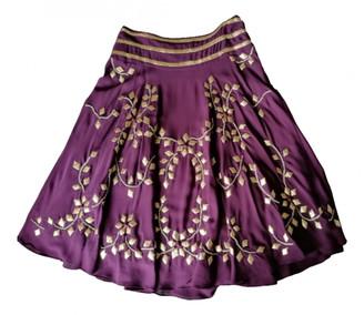Temperley London Purple Silk Skirts