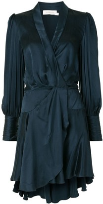 Zimmermann Silk Wrap Dress