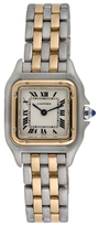 Cartier Vintage Panthere 18K Yellow Gold & Stainless Steel Watch, 22mm