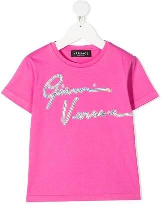 Versace logo-detail T-shirt