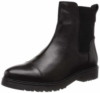 Dune London Dune Ladies Women's PAYSAN Cleated Chelsea Boots Size UK 5 Black Flat Heel Chelsea Boots