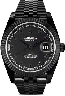 Rolex MAD Paris Oyster Perpetual Datejust II Noir 32mm