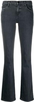 J Brand Sallie high rise straight-leg jeans