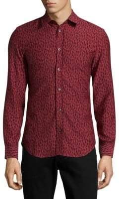 Maison Margiela Printed Casual Button-Down Shirt