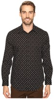 Perry Ellis Stretch Mini Star Dot Shirt
