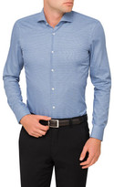 HUGO BOSS Contrast Trim Single Cuff Shirt