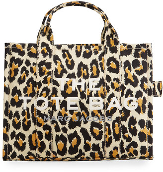 Marc Jacobs Traveler Leopard-Print Small Tote Bag