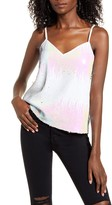 4SI3NNA the Label Vicky Sequin Camisole