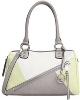Jessica Simpson Bella Mix Media Satchel Top Handle Bag