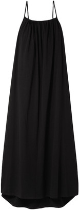 The Row Dresia Open-back Cotton-jersey Maxi Dress