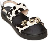 Alberto Guardiani 10mm Pop! Printed Ponyskin Sandals