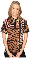 Jamie Sadock Animal Print Short Sleeve Top
