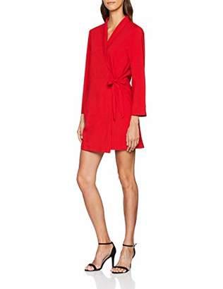 PepaLoves Women's Poppy Dress RED 0, 14 (Size:Large)