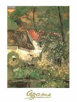 Cezanne 1art1 Posters: Paul Poster Art Print - The House Of Père Lacroix At Auvers (12 x 9 inches)