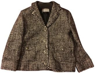 Marella Black Cotton Jacket for Women