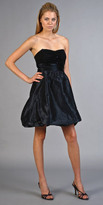 Black Bubble Taffeta Dresses by Nell Couture