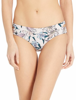 O'Neill Women's Darlene Printed Full Coverage Bikini Bottom Swimsuit