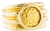 Ring 18K Coin Signet