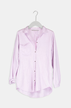Humanoid Pink Cotton Brown Blouse - L - Pink