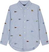 Ralph Lauren Appliqué logo long sleeve shirt 2-7 years