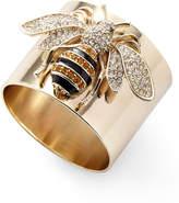 Joanna Buchanan Striped Bee Napkin Rings Set of 2