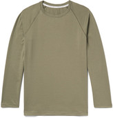 Hamilton and Hare - Cotton-jersey T-shirt - Army green