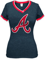 5th & Ocean Women's Atlanta Braves Triple Flock T-Shirt