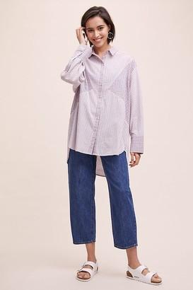 MUNTHE Eadie Mixed-Print Shirt