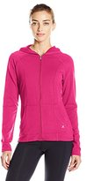 Danskin Women's Marrakesh French Terry Front Zip Jacket