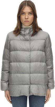 Max Mara 'S Hooded Nylon Down Jacket