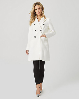 Le Château Cotton Twill Double Breasted Lightweight Coat