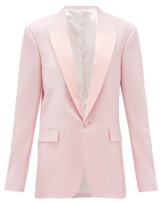Pallas Paris - Georgia Single-breasted Wool-crepe Jacket - Light Pink