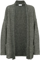 John Elliott - oversized cardigan - men - Cotton/Linen/Flax - M