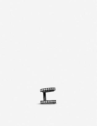 Repossi Berbere Module 18ct black-gold and diamond pave ear cuff