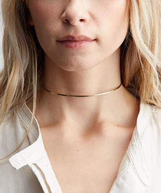 Etsy Dainty Gold Choker Necklace, Collar Necklace - 14k Gold Fill and Rose Gold Filled / Simple Gold Nec