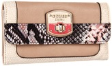 GUESS Bellville Slim Clutch (Nude Multi) - Bags and Luggage