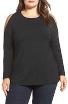 Tart Plus Size Women's Giza Cold Shoulder Top
