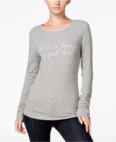 Maison Jules Long-Sleeve Graphic T-Shirt, Only at Macy's