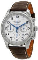 Longines Master Chronograph Automatic Silver Dial Men's Watch