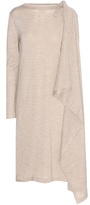 Maison Margiela Draped Wool Dress