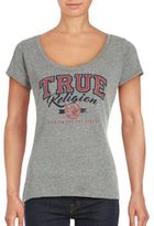 True Religion Heathered Short Sleeve Tee