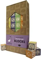 Uncle Goose Spanish ABC Blocks