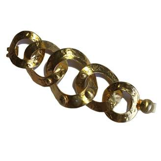 Louis Vuitton Gold Metal Bracelets