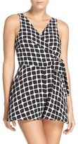 LaBlanca Women's La Blanca Geometric Cover-Up Romper