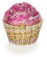 Judith Leiber Crystal Cupcake Pillbox